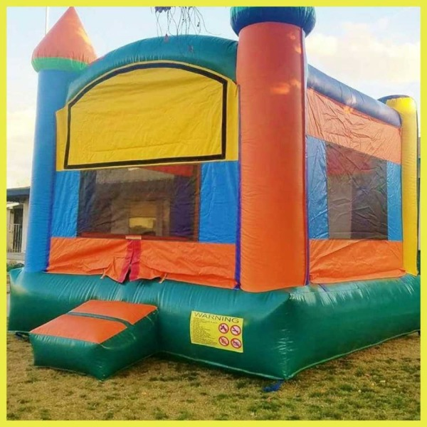 basic multi color castle