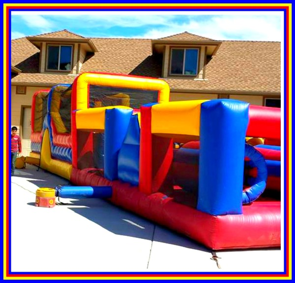 55ft obstacle bounce