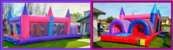 race through obstacle