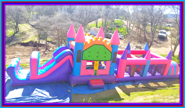 60ft slide obstacle
